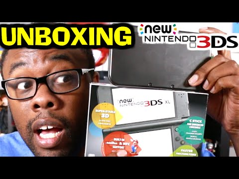 NEW NINTENDO 3DS XL UNBOXING : Black Nerd