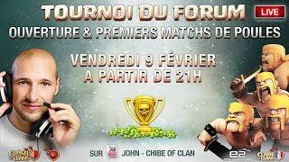 🔴 Tournoi 150K de membres forum COC.FR | 20.000 GEMMES EN JEU | Clash of clans