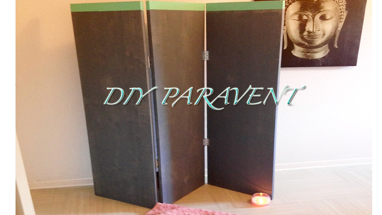 Comment faire un paravent bricolage facile diy youtube - Grand paravent pas cher ...
