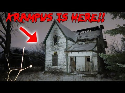 I SUMMONED KRAMPUS THE CHRISTMAS GHOST IN TOMS HAUNTED HOUSE & THIS HAPPENED! | MOE SARGI