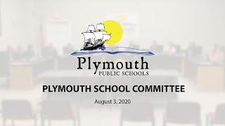 School Committee - August 3, 2020