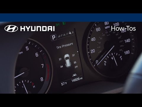 How to Use the Tire Pressure Monitoring System Feature | Hyundai