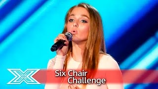 Olivia Garcia fights it out for her Chair! | Six Chair Challenge | The X Factor UK 2016