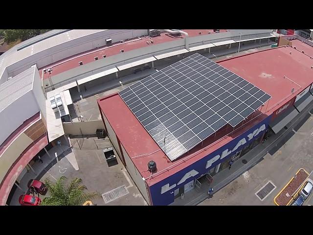 Instalación fotovoltaica de 43.40 kWp en Super la Playa