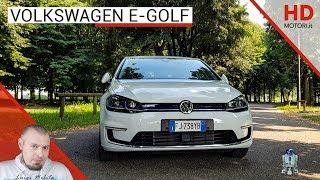 Volkswagen e-Golf: recensione AUTO ELETTRICA da Jedi | prova, autonomia e prezzi