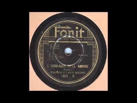 L'OROLOGIO DELL'AMORE (Frustaci)  - Italian Swing Of 1938