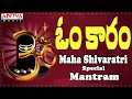 Download Popular Omkara Mantram || Maha Shivaratri Special || Telugu Devotional Song || Parthasaradhii MP3 song and Music Video