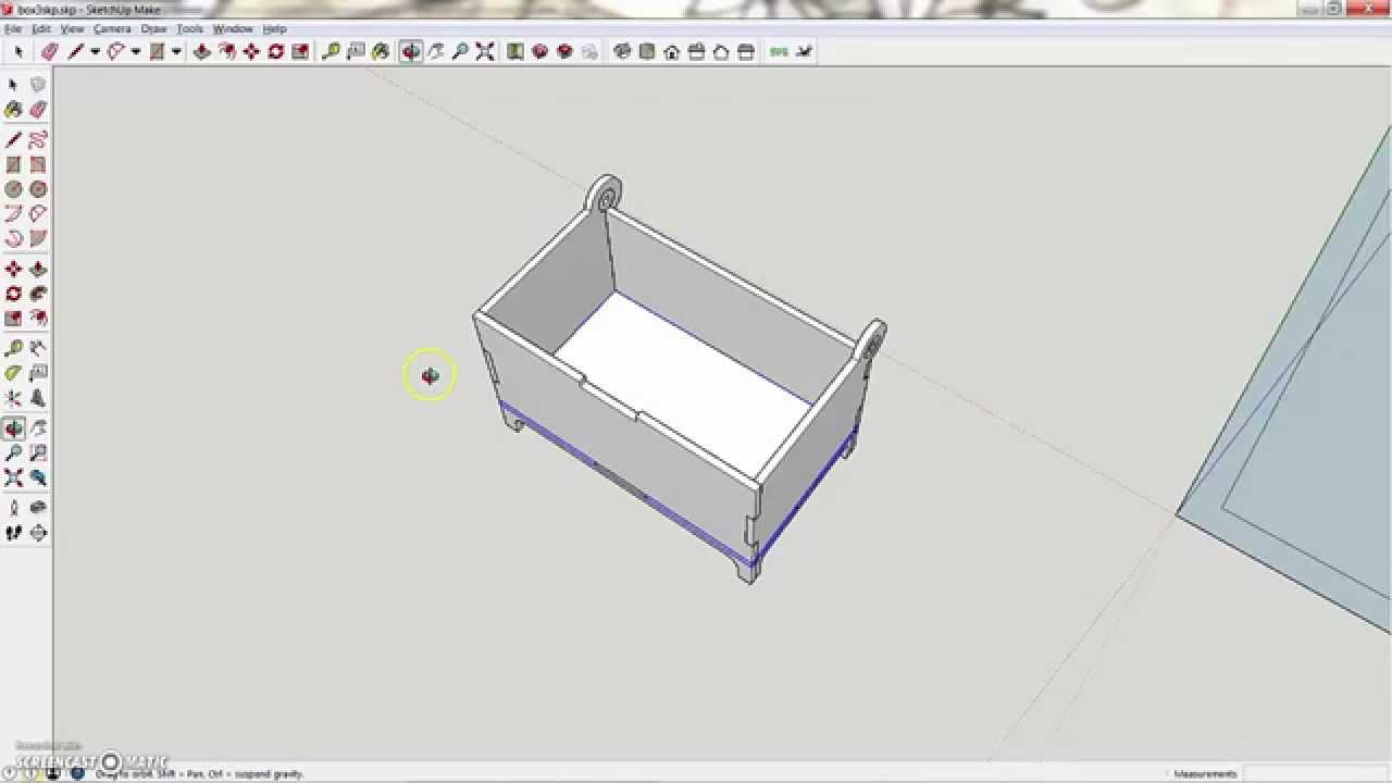 how to cut a cylinder at an angle in sketchup