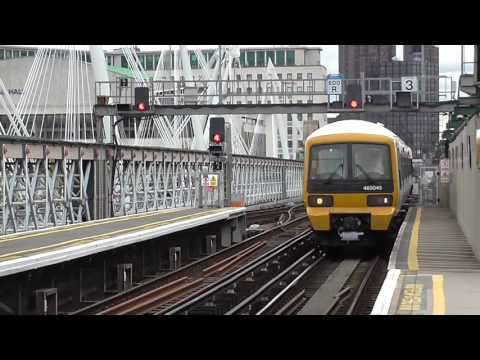 Trains at London Charing Cross Railway Station - Friday 21st April 2017
