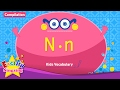 Kids Vocabulary Compilation - Words Starting With N, N - Learn English For Kids video