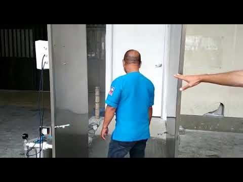 Hospital San Jorge estrena túnel de desinfección