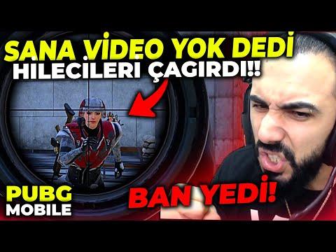 SAYGISIZ VELET, SANA VİDEO ÇIKARTMAK YOK DEDİ HİLECİLERİ ÇAĞIRDI!! (BAN YEDİ!!)   PUBG MOBILE