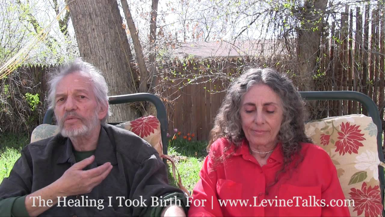 The Healing I Took Birth For - Book Trailer (with Ondrea & Stephen Levine)