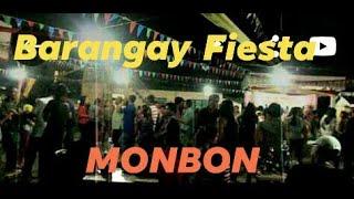 Brgy. Monbon fiesta, Palapag