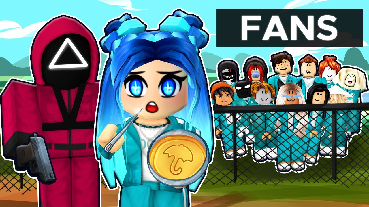 Download ROBLOX SQUID GAME WITH FANS...