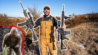 hunting-bigfoot-in-my-backyard-surprise-ending