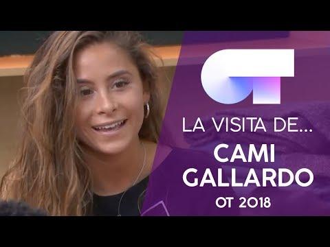 CAMI GALLARDO visita la ACADEMIA   OT 2018