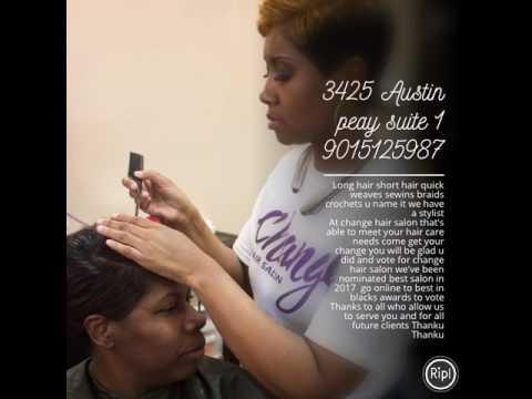 Change Hair salon advertisement - YouTube