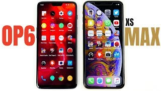 OnePlus 6 vs iPhone XS Max Speed Test!