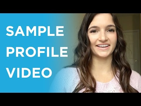 examples of personal profiles for dating