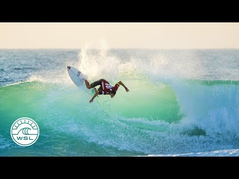 2017 Ballito Pro Highlights: Quarters Decided in Pumping Surf