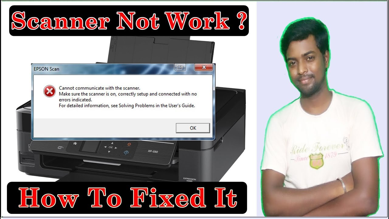 Scanner not work ? || Scanner cannot communicate ? || How to fix scanner  Scanning problems ?