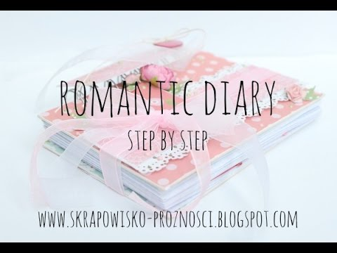 Girly Diary Cover