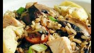 How To Prepare Chicken  And  Wild  Rice- Funny Hot Recipes,food, Kitchen,cooking,non Vegetarian