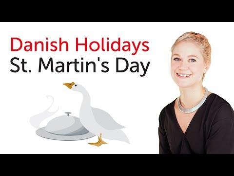 Danish Holidays - St. Martin's Day - Mortensaften