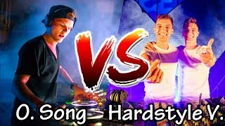 ORIGINAL SONG VS HARDSTYLE VERSION