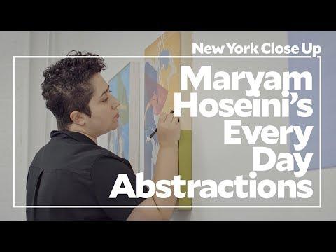"Maryam Hoseini's Every Day Abstractions   Art21 ""New York Close Up"""