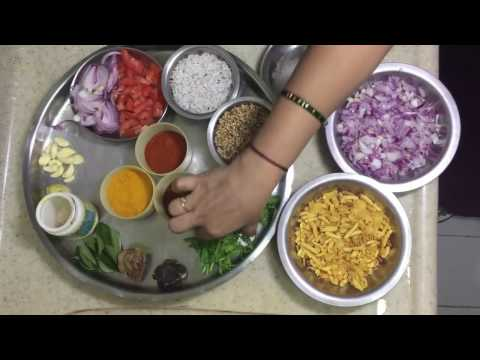 How to make spicy misal pav