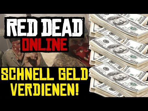 red dead redemption 2 online schnell geld machen