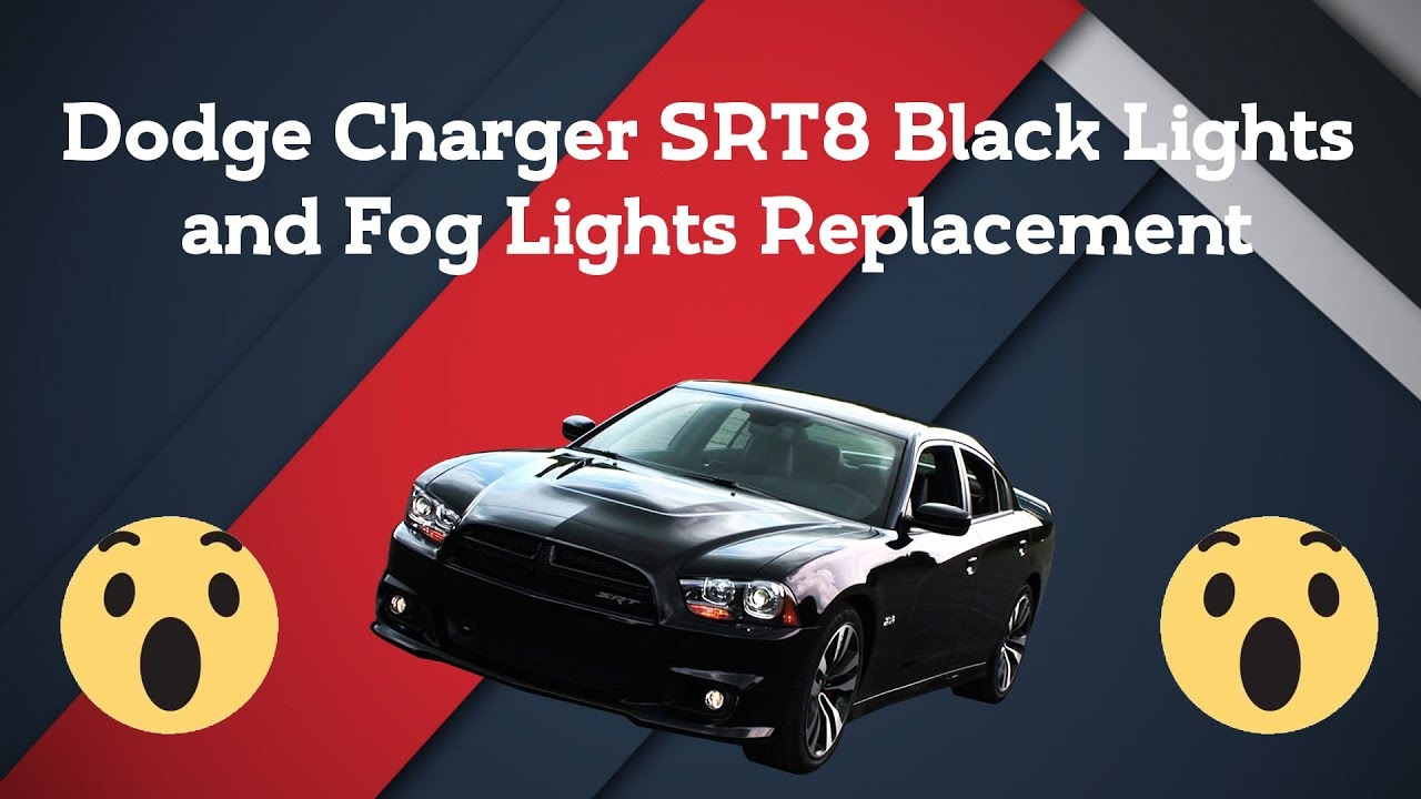 Dodge Led Headlights >> Project 46 Dodge Charger 310 Mopar SRT8 Black Lights and Fog Lights Replacement - YouTube