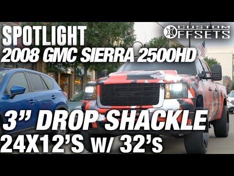 McGaughys 2 Rear Lowering Shackles Heavy Duty Truck 33089