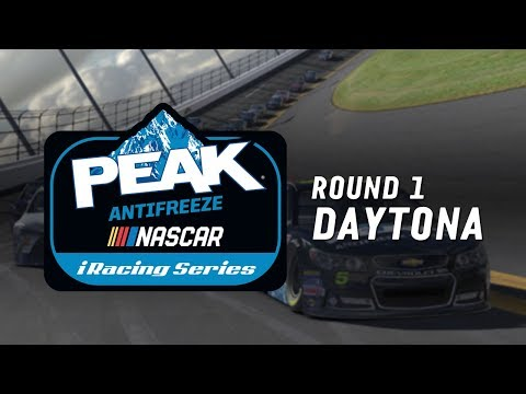 NASCAR PEAK Antifreeze iRacing Series | Round 1 at Daytona