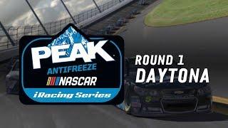NASCAR PEAK Antifreeze iRacing Series | Round 1 at Daytona thumbnail
