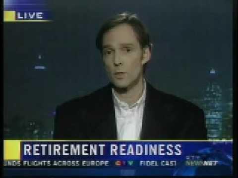 David Trahair on CTV Newsnet