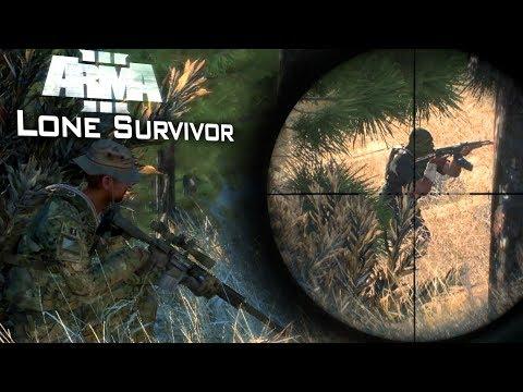 Arma 3: Lone Survivor Forest Fight