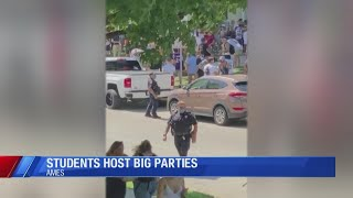 How Ames police are monitoring parties at Iowa State