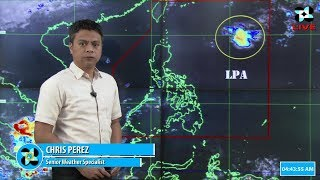 Public Weather Forecast Issued at 4:00 AM October 10, 2018
