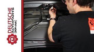 MK5 Jetta Trunk Latch DIY (How to) Install (Trunk Won't Stay Shut)