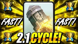 FASTEST ROCKET CYCLE DECK EVER!! 2.1 CYCLE!! THIS IS INSANE!!