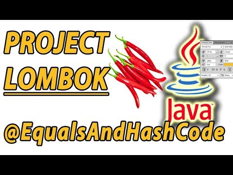 Project Lombok EqualsAndHashCode Example (Part 3)