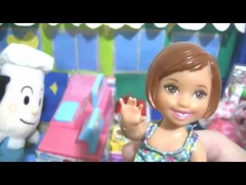 バタコさんショップでケリーちゃん高級バッグをプレゼントにチャレンジ?!おもちゃ アニメ!ゆいママとあそぼう!