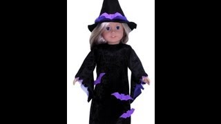 American Girl Doll Clothes Patterns Halloween Witches Costume