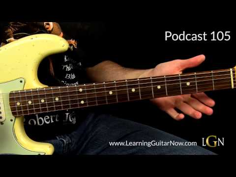Jimi Hendrix Bleeding Heart Style Lesson Podcast 16