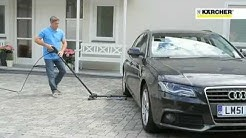 Kärcher Chassis Cleaner Demo (Demonstration cleaning under a car)