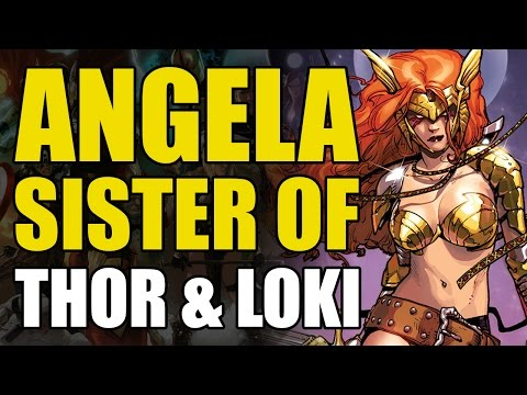 Angela: Sister of Thor & Loki (Guardians Of The Galaxy Vol 2