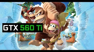 Cemu 1.15.2c | Donkey Kong Country: Tropical Freeze  | 60fps on GTX 560 TI at 1080p